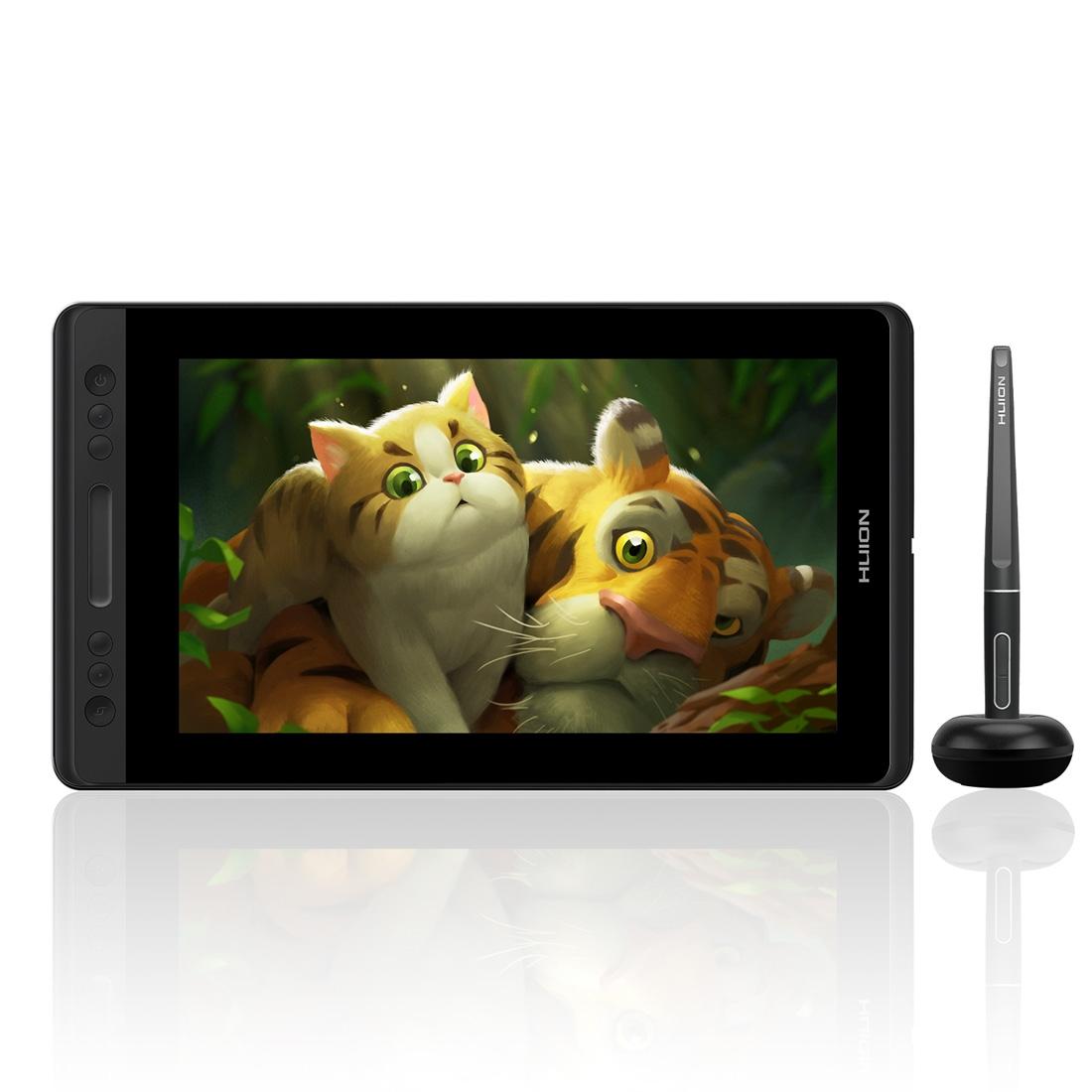 HUION Kamvas Series GT-133 13.3inch 5080LPI Graphics Drawing Tablet Digital Display for Windows / Mac OS, with Digital Pen