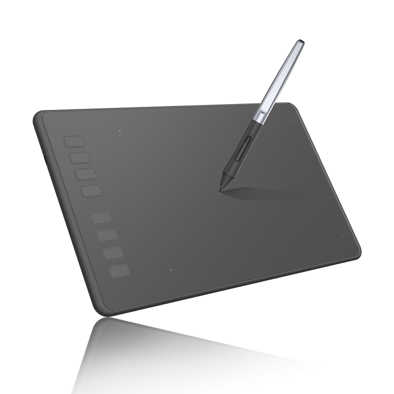 HUION Inspiroy Series H950P 5080LPI Professional Art USB Graphics Drawing Tablet for Windows / Mac OS, with Battery-free Pen