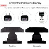 Remote Controller Sunshade For DJI Mavic Series / Spark / Phantom 3 / Phantom 4 series (Black)