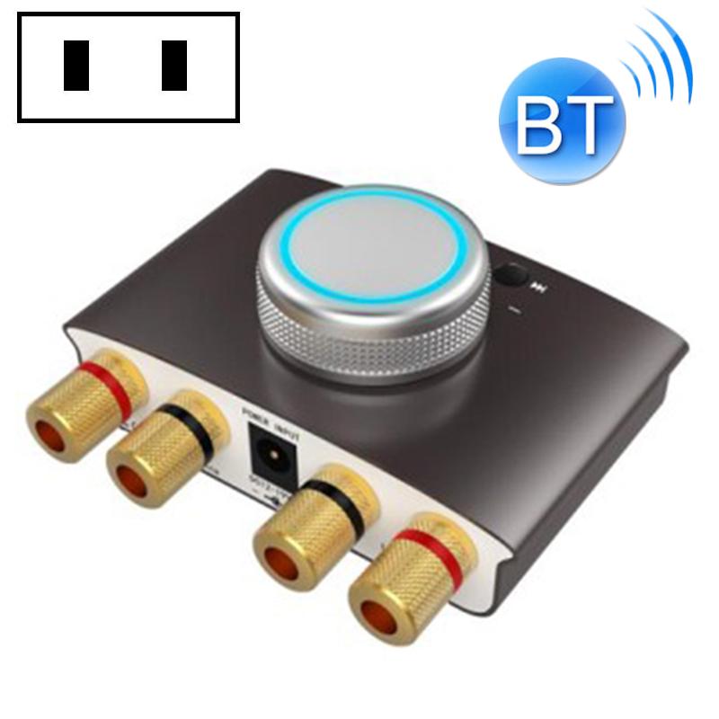 168MNI Car / Household HIFI Amplifier Audio, Support MP3 / Bluetooth, US Plug
