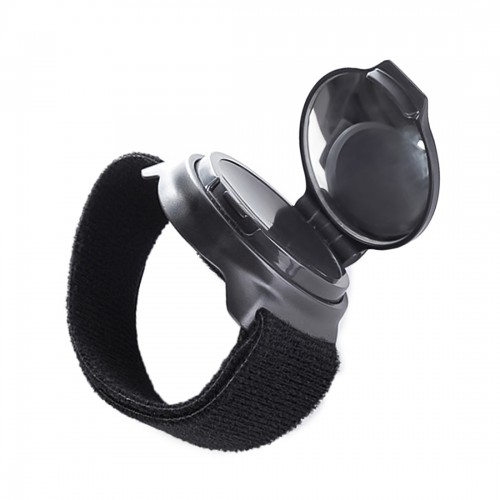 Bicycle 360 Degree Back Mirror Arm Wrist Strap Rear View Mirror