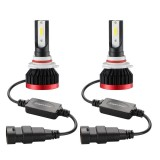 2 PCS EV7 9006 / HB4 DC 9-32V 36W 3000LM 6000K IP67 LED Car Headlight Lamps, with Mini LED Driver and Cable (White Light)