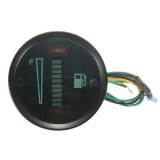 Car Modified Instrument Panel 12V LCD Display Oil Meter
