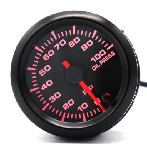 2 inch Car Modified Instrument Panel 12V LCD Display Oil Press Gauge