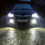 2 PCS S2 9007 / HB5 18W 6000K 1800LM IP65 2 COB LED Car Headlight Lamps, DC 9-30V (Cool White)