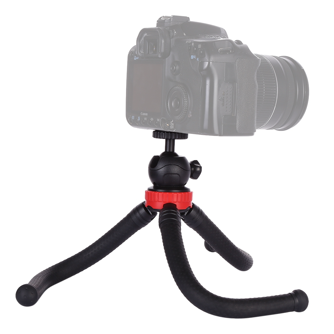 GoPro Size:30cmx5cm Durable Cellphone Mini Octopus Flexible Tripod Holder with Ball Head for SLR Cameras