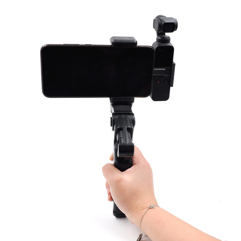 for Osmo Pocket Accessories Mini Tripod Stand Base Mount Adapter Accessories Tripod Selfie Stick Extension Fxed Bracket for DJI OSMO Pocket