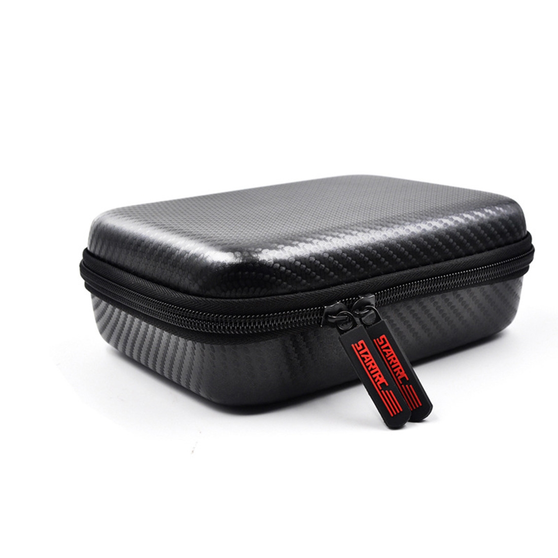 STARTRC Carbon Texture Waterproof PU Storage Bag for DJI OSMO Pocket Gimble Camera (Black)