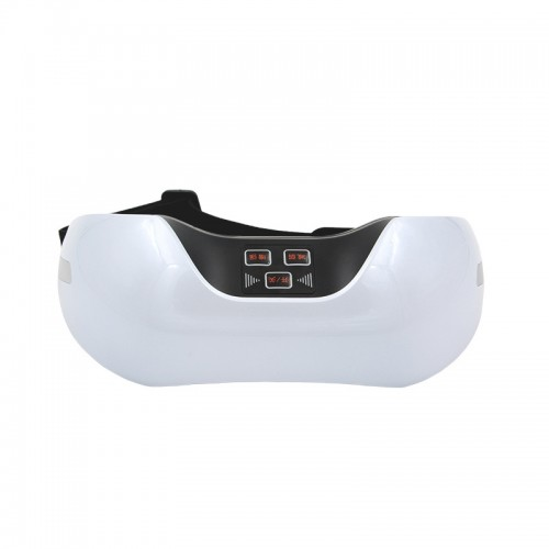 Ifan-918 3D Green Light Training Simulated Acupuncture Eye Massager, Support USB Charging (White)