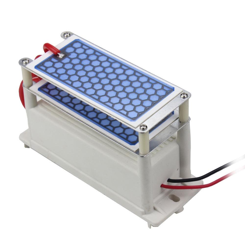 DC 12V 10G Sterilization Disinfection Odor Removal High Temperature Ceramic Plate Integrated Ozone Generator