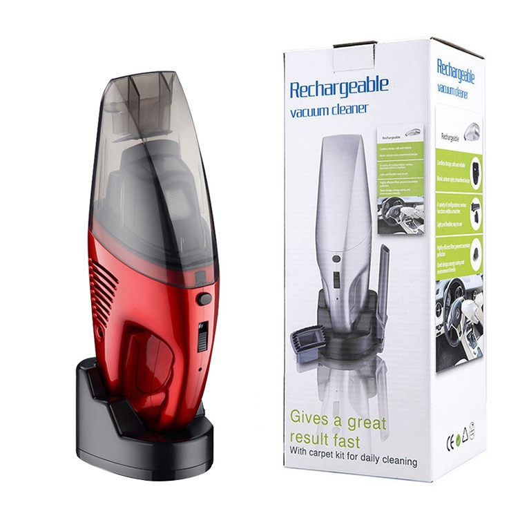 60W Rechargeable Car Household Portable Handheld Wireless Dry Wet Used Vacuum Cleaner