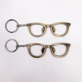 5 PCS Multi-function Eyeglasses Bottle Opener Key Chain Car Key Pendant, Size: 10.5×3.5cm (Black)