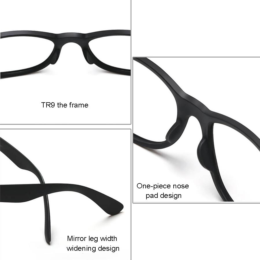 Original Xiaomi TS STR004-0120 Fashion Traveler Sunglasses (Black)
