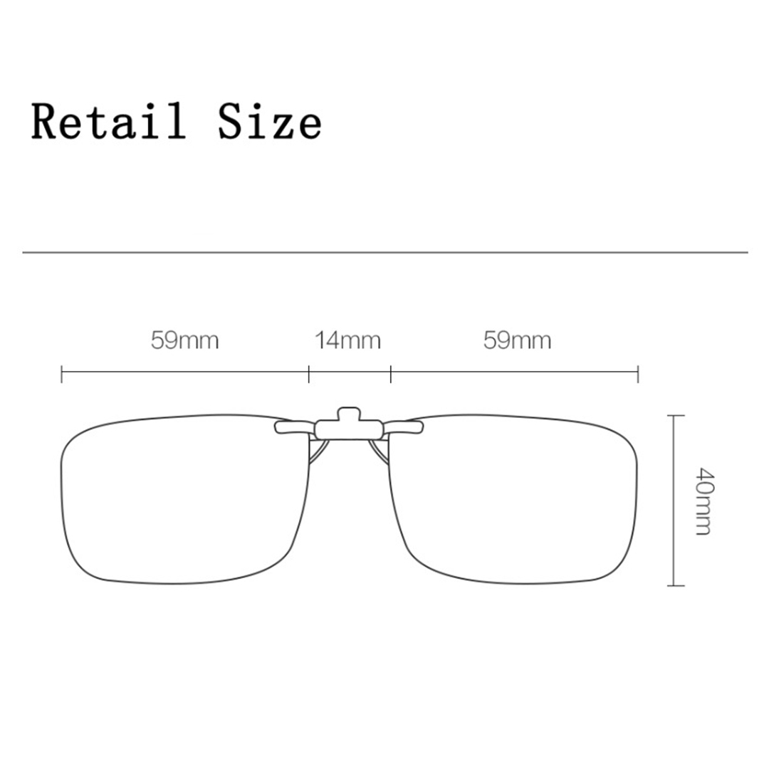 Original Xiaomi TS Clip Sunglasses Lenses