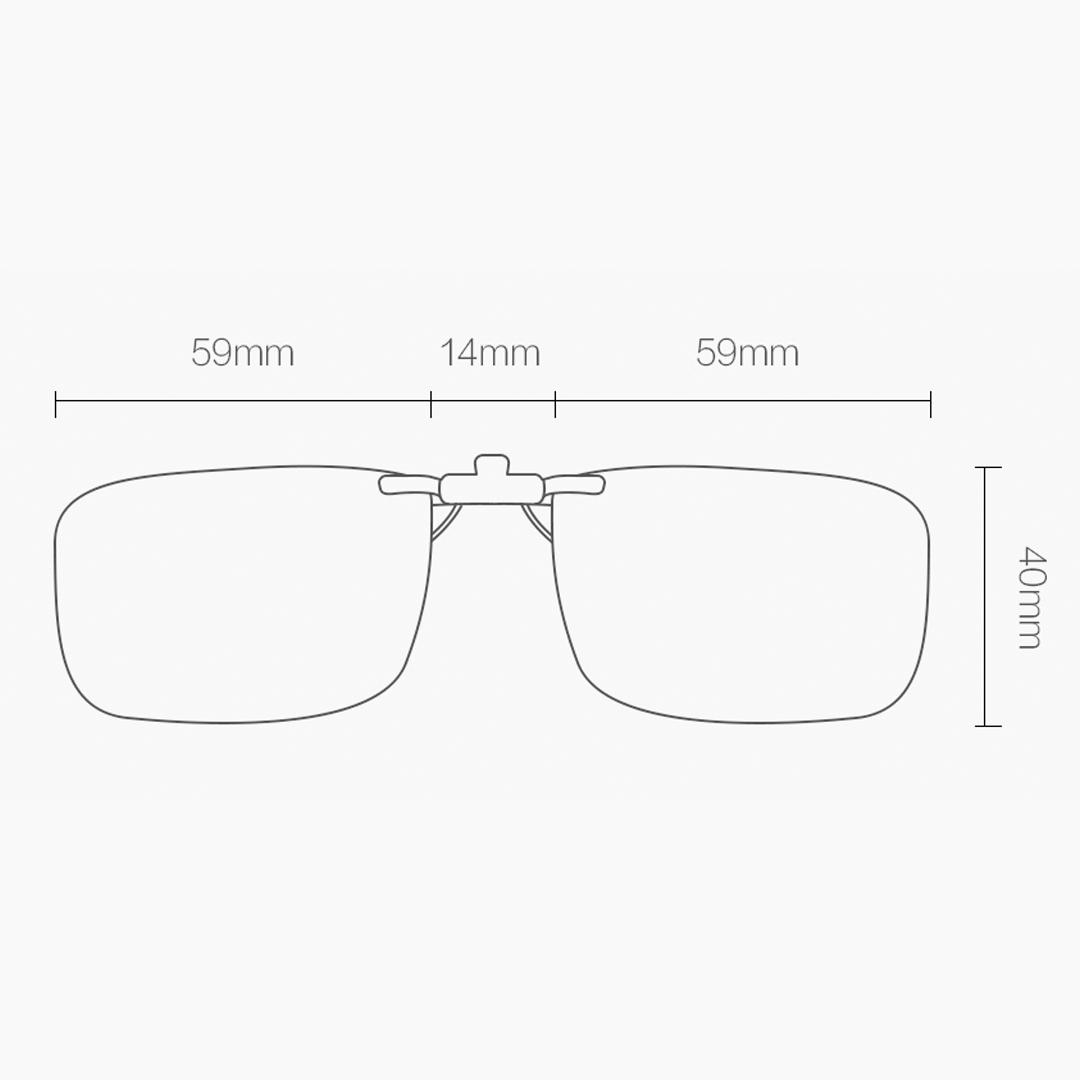 Original Xiaomi TS Clip Anti Blue-ray Lens