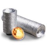 250PCS Aluminum Foil Egg Tart Cup Cake Holder, Size: 7.5x4x2cm