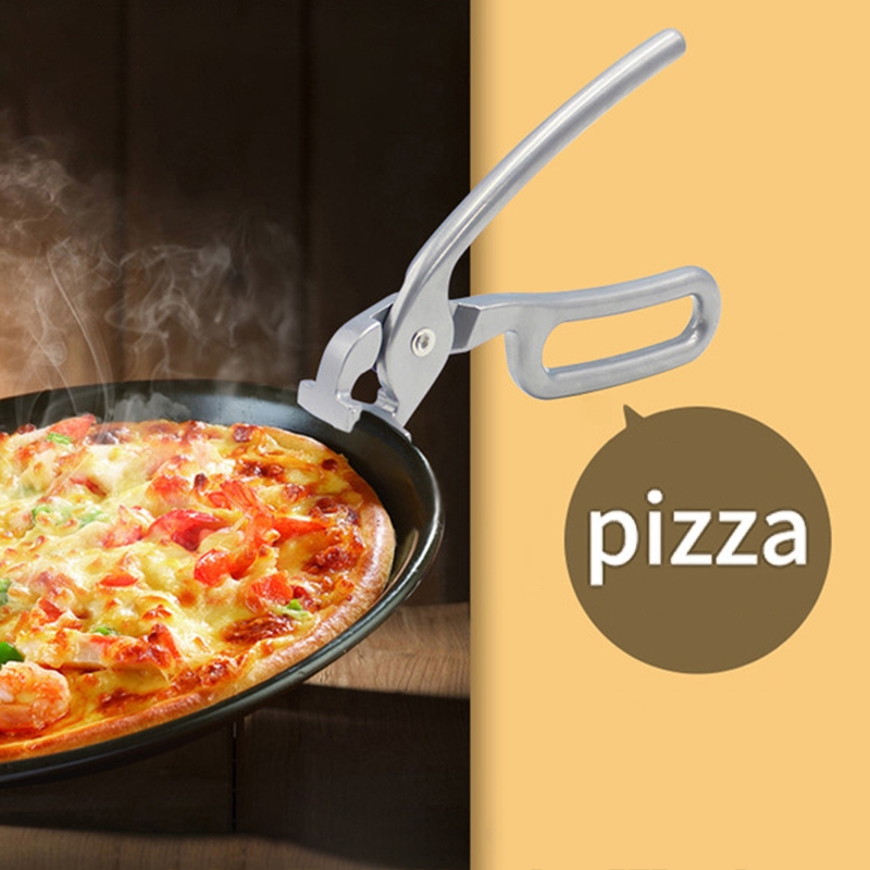 Anti-hot Bowl Dishes Folder Stainless Steel Bowl Clip Universal Kitchen Pots Gripper Pizza Pan Pliers Handle Clip Clamp