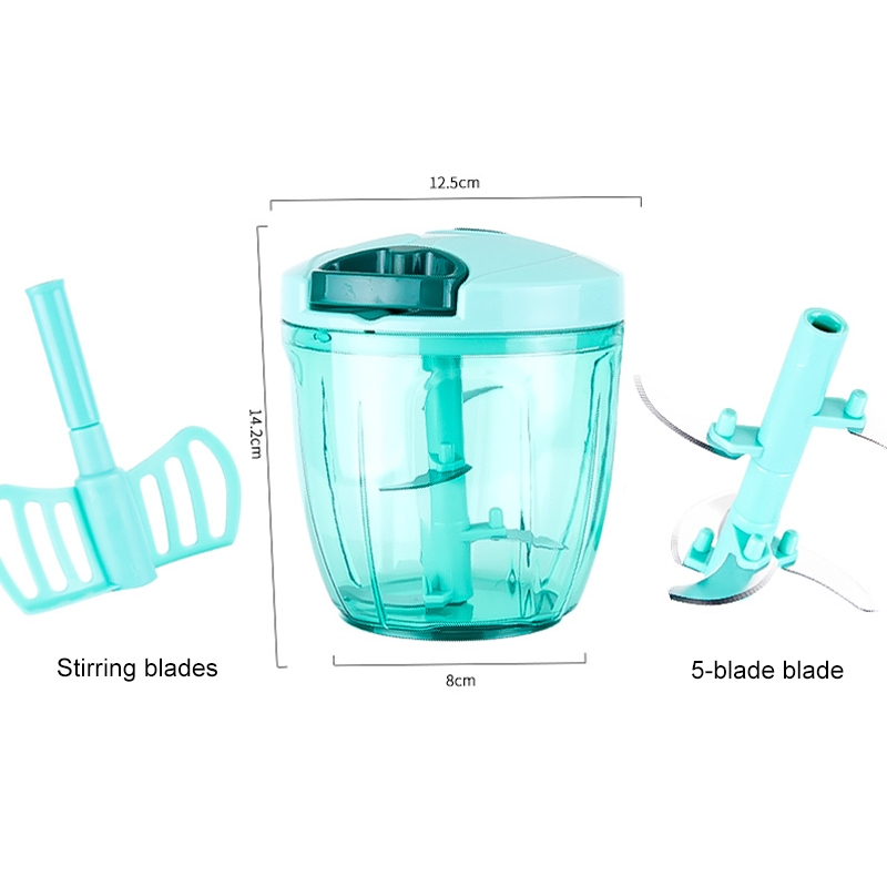 A008-2 Household Cooking Device Stirrer Squeezer (Blue)