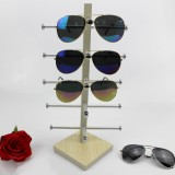Oak Wood Glasses Display Frame Sunglasses Rack Display Stand