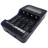 LiitoKala lii-500 Lithium Battery Charger for Li-ion IMR 18650, 26650, 16340, 14500, 10440, 18500, EU Plug