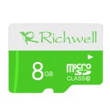 Richwell 8GB High Speed Class 10 Micro SD (TF) Memory Card