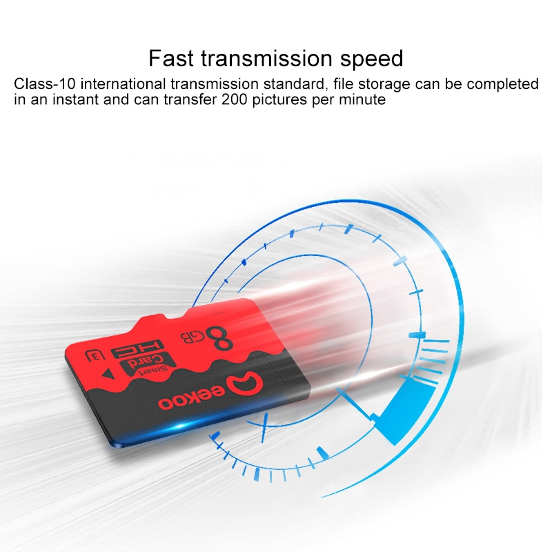 eekoo 8GB CLASS 10 TF (Micro SD) Memory Card, Universal Version