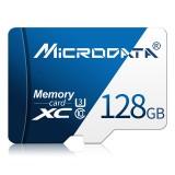 MICRODATA 128GB U3 Blue and White TF (Micro SD) Memory Card
