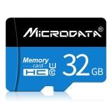 MICRODATA 32GB U1 Blue and Black TF (Micro SD) Memory Card