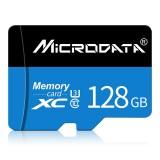 MICRODATA 128GB U3 Blue and Black TF (Micro SD) Memory Card