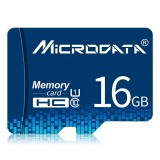 MICRODATA 16GB U1 Blue TF (Micro SD) Memory Card