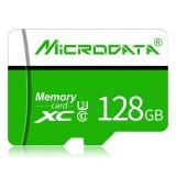 MICRODATA 128GB U3 Green and White TF (Micro SD) Memory Card