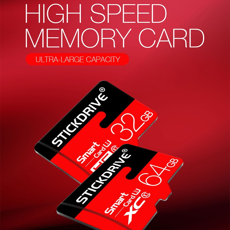 Stickdrive 32GB High Speed Class 10 Micro SD (TF) Memory Card