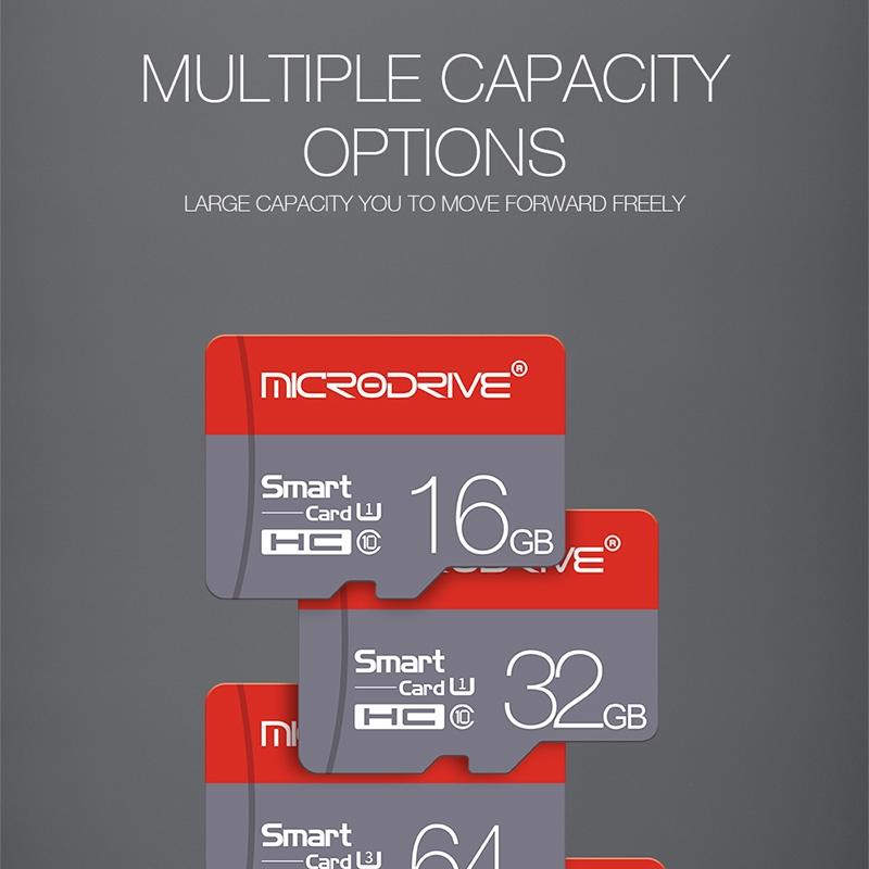 Stickdrive 16GB High Speed Class 10 Micro SD (TF) Memory Card