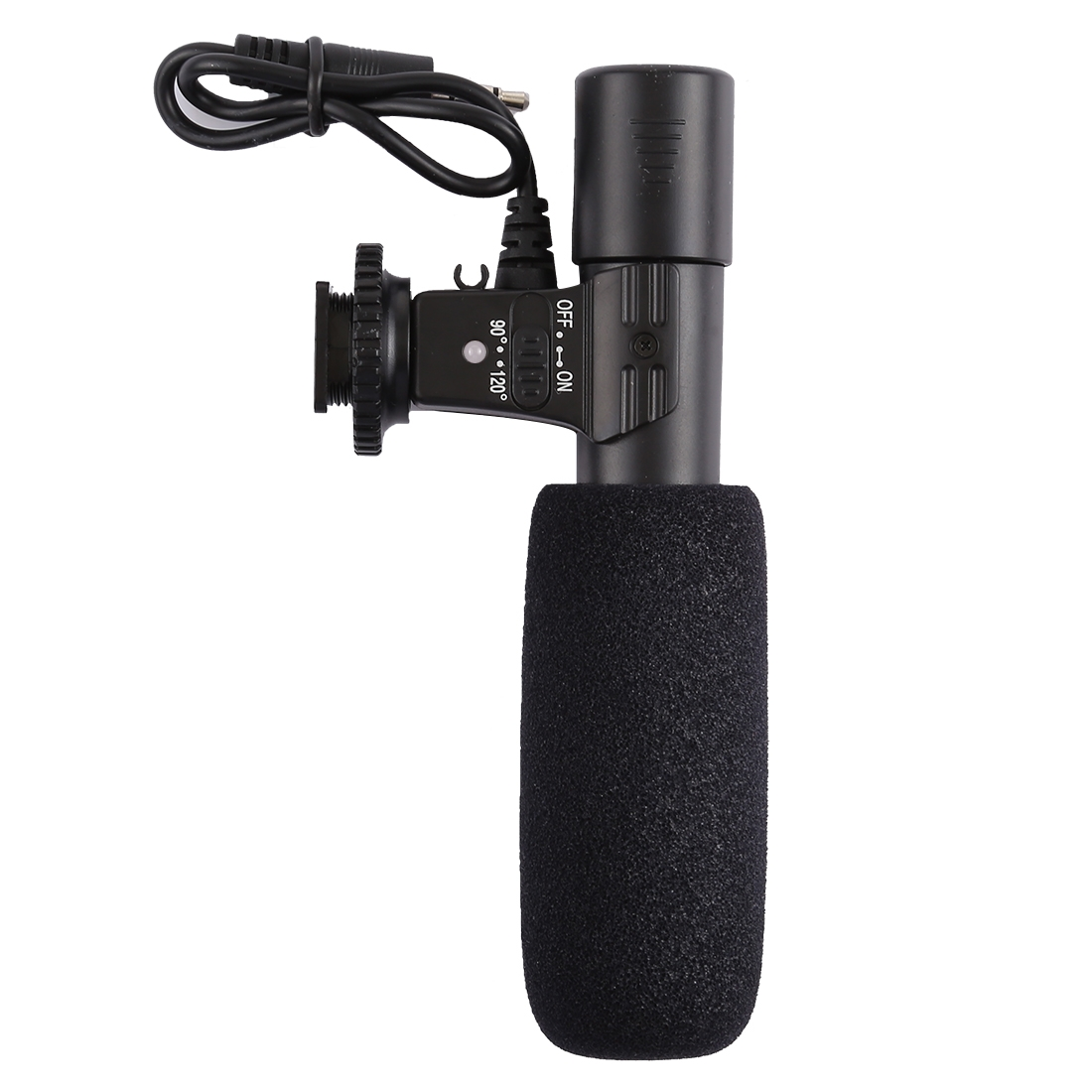 MIC-04 30-18000Hz Rate Sound Clear Stereo Microphone for Smartphone, Cable  Length: 28cm
