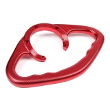Yamaha Motorcycle mt07 Modified CNC Yamaha Series Fuel Tank Handrail MT09 Universal Fuel Tank Cap Handrail (Red)
