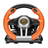 PXN-V3 Racing Game Steering Wheel for PC / PS3 / 4 / xbox one / switch (Orange)