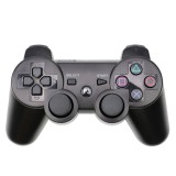 Snowflake Button Wireless Bluetooth Gamepad Game Controller for PS3 (Black)
