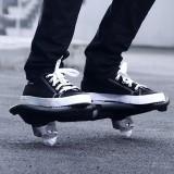 Fashion Rocket Pattern Two-wheeled Skateboard Luminous Flash Wheel Vitality Board (Yellow)