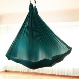 Household Handstand Elastic Stretching Rope Aerial Yoga Hammock Set (Dark Green)