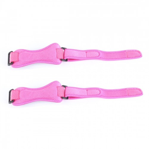2 PCS SMD-0114 Outdoor Sport Knee Joint Protective Belt Anti-sprain Patellar Band (Rose Red)
