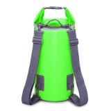 Outdoor Waterproof Dry Dual Shoulder Strap Bag Dry Sack, Capacity: 30L (Green)
