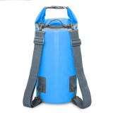 Outdoor Waterproof Dry Dual Shoulder Strap Bag Dry Sack, Capacity: 30L (Blue)