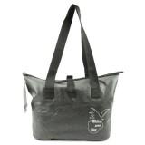 Outdoor Wear-resistant Waterproof Shoulder Bag Dry and Wet Separation Swimming Bag (Dark Gray)