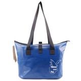 Outdoor Wear-resistant Waterproof Shoulder Bag Dry and Wet Separation Swimming Bag (Dark Blue)