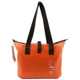 Outdoor Wear-resistant Waterproof Shoulder Bag Dry and Wet Separation Swimming Bag (Orange)