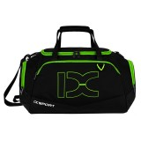 IX LK8035 Scratchproof Waterproof Dry Wet Separation Crossbody One-shoulder Yoga Fitness Travel Bag, Capacity: 40L (Black+green)