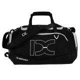 IX LK8035 Scratchproof Waterproof Dry Wet Separation Crossbody One-shoulder Yoga Fitness Travel Bag, Capacity: 40L (White + Black)