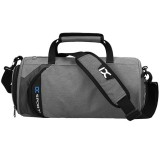 IX LK8036A Waterproof Multi-function Dry Wet Separation Yoga Fitness One-shoulder Portable Travel Bag with Pull Rod Strap, Size: 45x26x26cm (Dark Green)