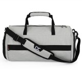 IX LK8036A Waterproof Multi-function Dry Wet Separation Yoga Fitness One-shoulder Portable Travel Bag with Pull Rod Strap, Size: 45x26x26cm (Light Grey)
