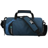 IX LK8036A Waterproof Multi-function Dry Wet Separation Yoga Fitness One-shoulder Portable Travel Bag with Pull Rod Strap, Size: 45x26x26cm (Blue)